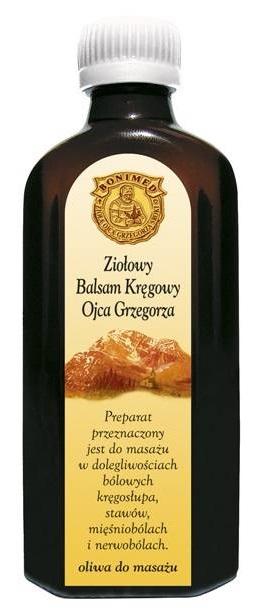 Balsam kręgowy O. Grzegorza 100 g