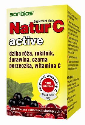Natur C Active 100 tbl