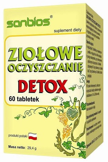 Ziołowe oczyszczanie Detox 60 tbl
